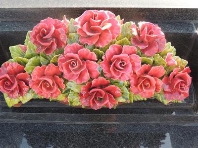 Illustration fleurs cimetière