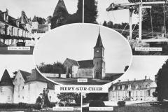 Carte postale-différentes vues du village