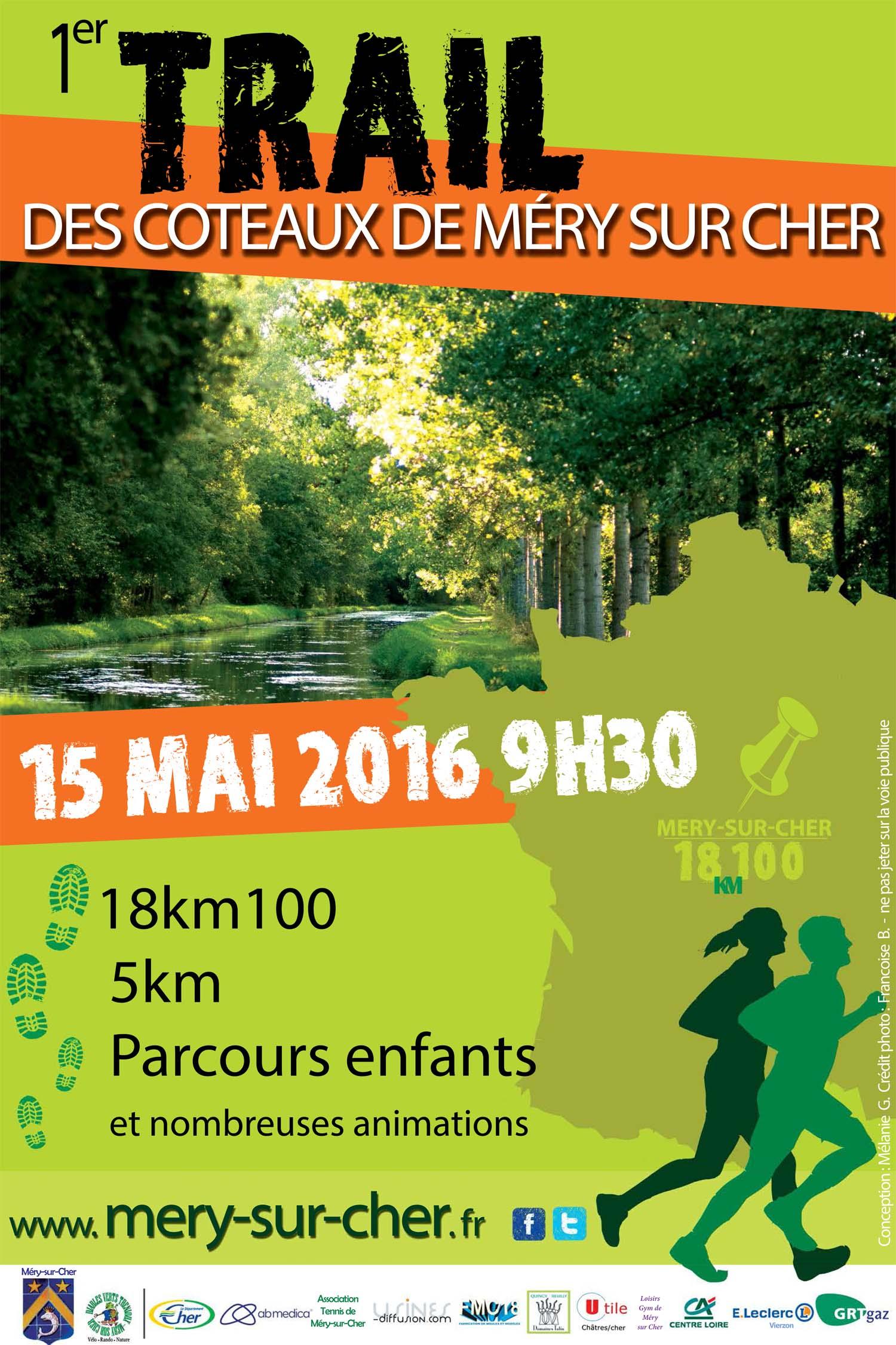 Flyer trail Mery-sur-Cher