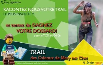 Bannière jeux concours trail 2017