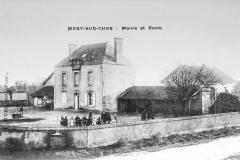 Carte postale mairie et ecole
