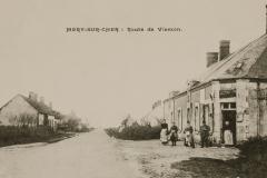 Vue Route de Vierzon-Bouftard-1914-01
