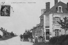 Vue Route de Vierzon-Bouftard en 1914